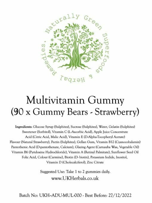 Adult Multivitamin Gummies - Strawberry