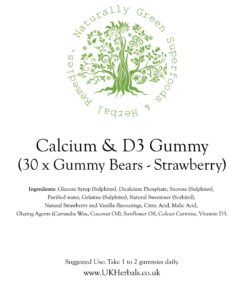 Calcium Vitamin D3 Gummy Bears
