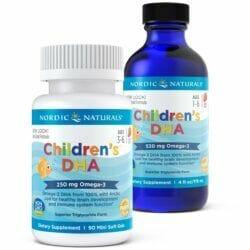 Children's DHA, 250mg Strawberry - 90 softgels