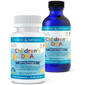 Children's DHA, 250mg Strawberry - 90 softgels