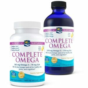 Complete Omega Junior 283mg Lemon 90 Softgels