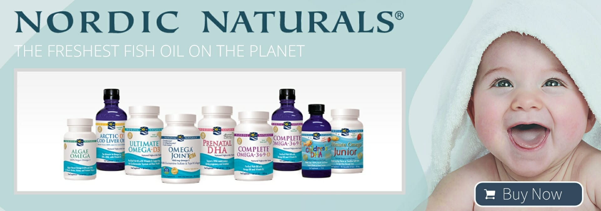 Nordic Naturals Homepage Banner