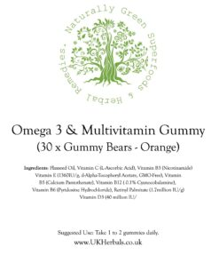 Omega 3 Multivitamin Gummies