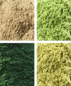 Alfalfa - Barleygrass- Spirulina - Wheatgrass Superfood Selection
