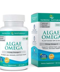 Algae Omega 715mg Omega 3 - 60 softgels