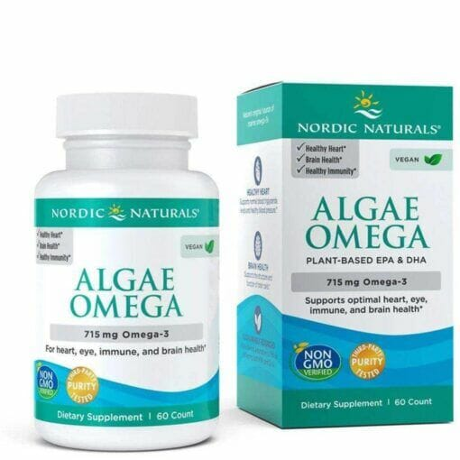 Algae Omega 715mg Omega 3 - 60 softgels
